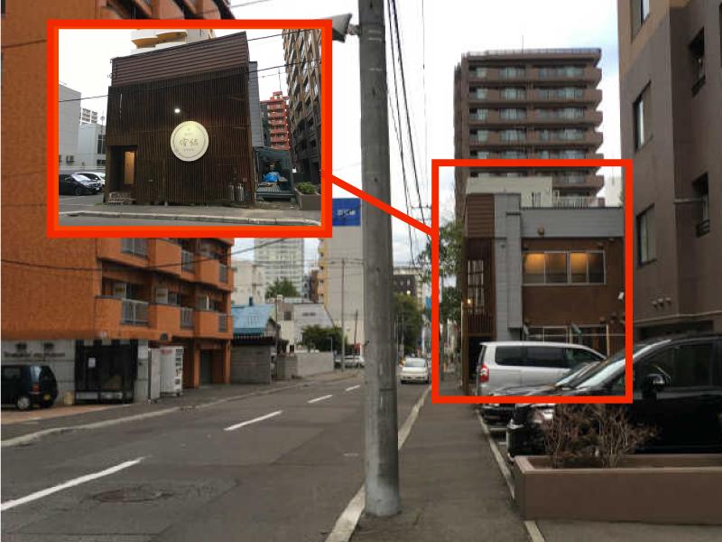 ゲストハウスyuyuへのアクセス_創成川東病院前