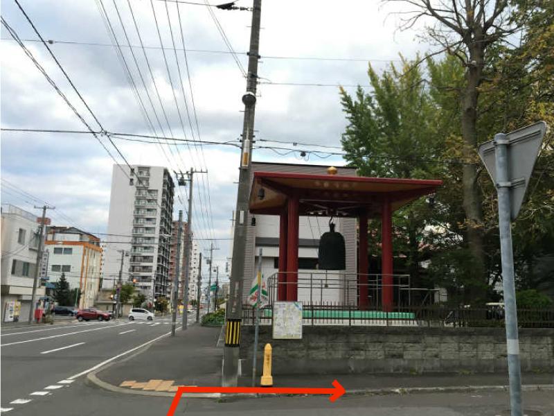 ゲストハウスyuyuへの道3